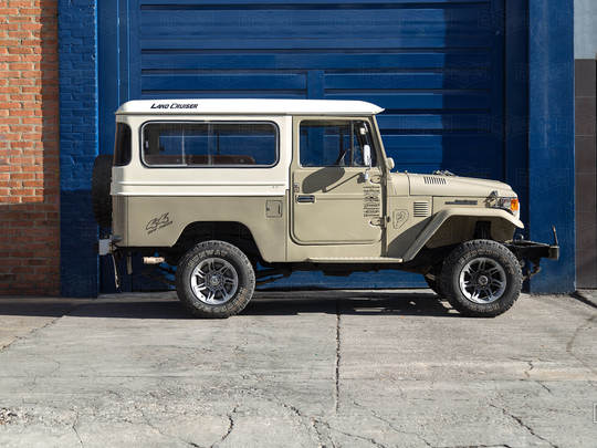 1984 FJ43 Land Cruiser