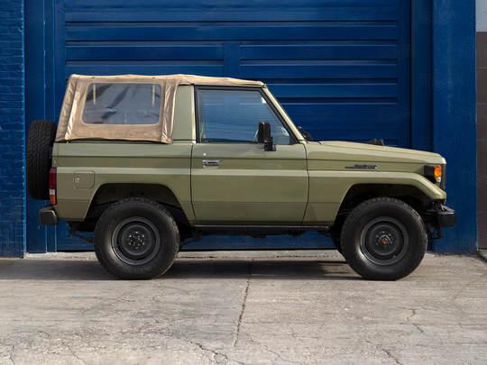 1985 Toyota Land Cruiser FJ70 0004105