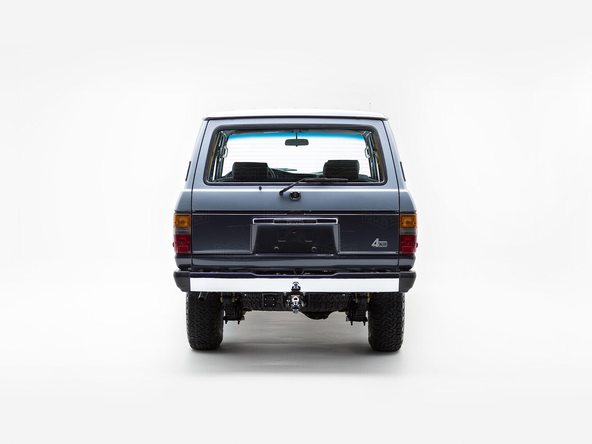 1988 FJ62 - Blue/Silver - FJ62-G8J0088791