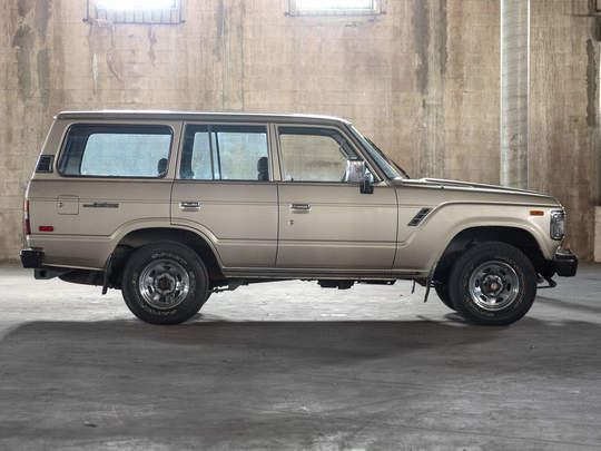 1989 Toyota Land Cruiser FJ62 Gold