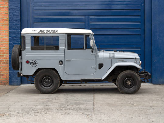 FJ40 Land Cruisers for restoration - The FJ Company