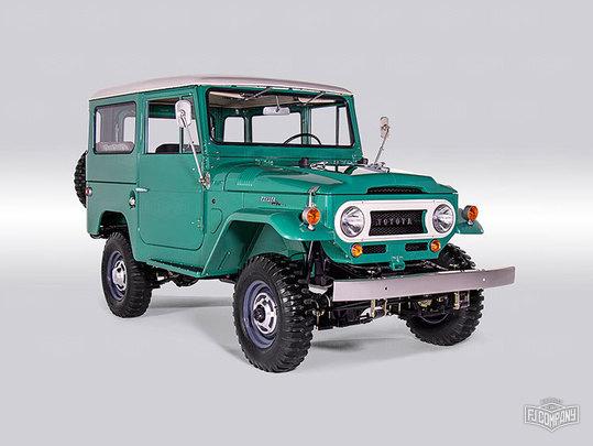 1968 FJ40 63668 Deep Green