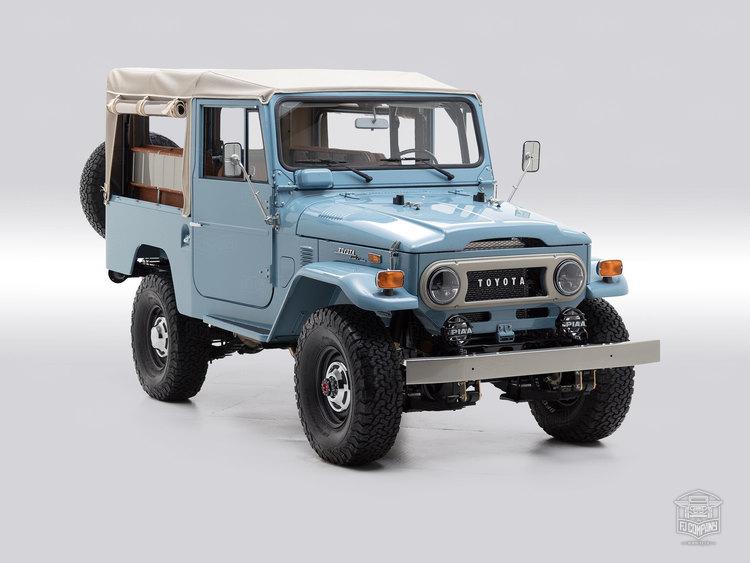 1973 Toyota Land Cruiser FJ43 Capri Blue FJ43 325992