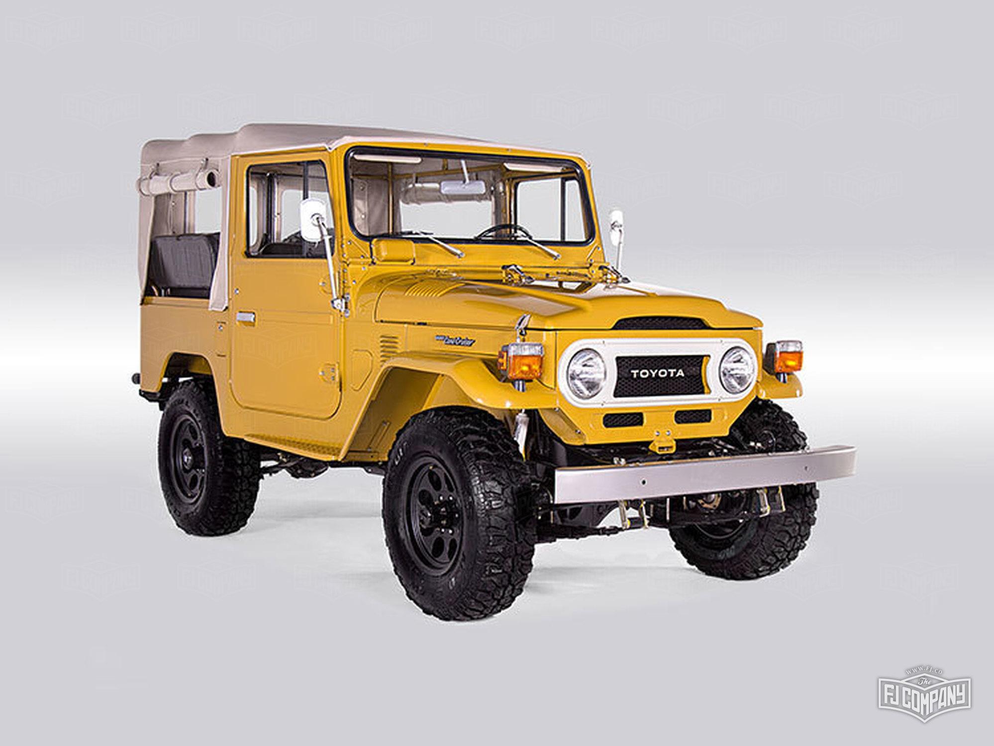 1976 FJ40 - Mustard Yellow - FJ40-225452