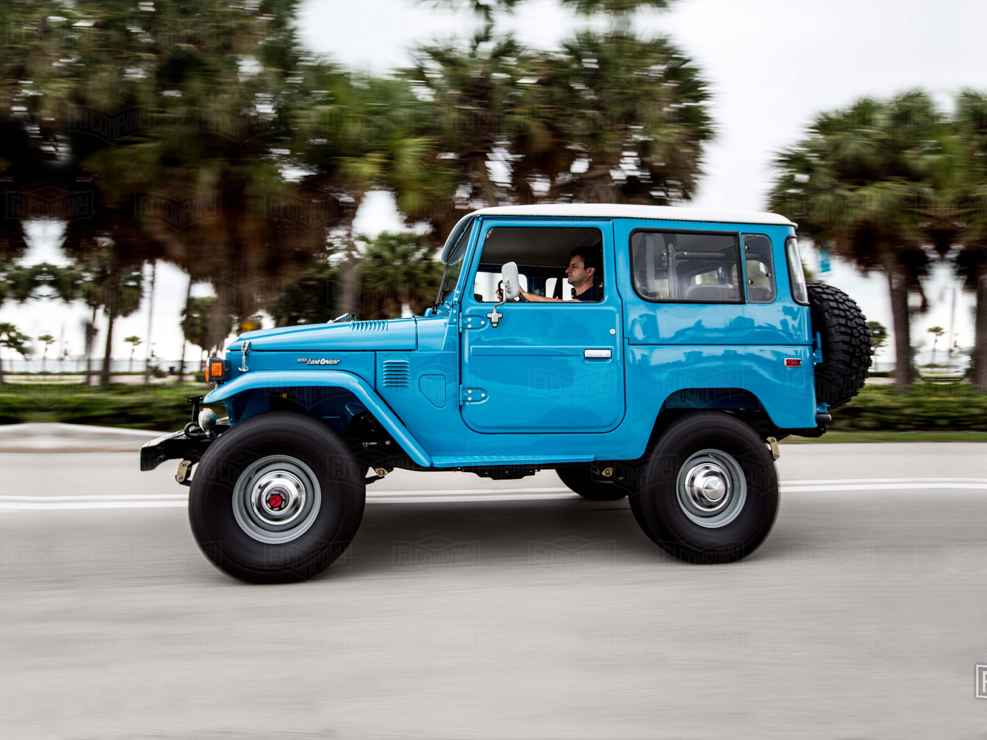 300 Series Toyota Land Cruiser >> 1978 FJ40 - Sky Blue - FJ40-265788