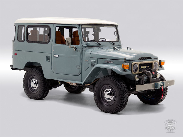 Land Cruiser Restoration >> Restored Land Cruisers The Fj Company