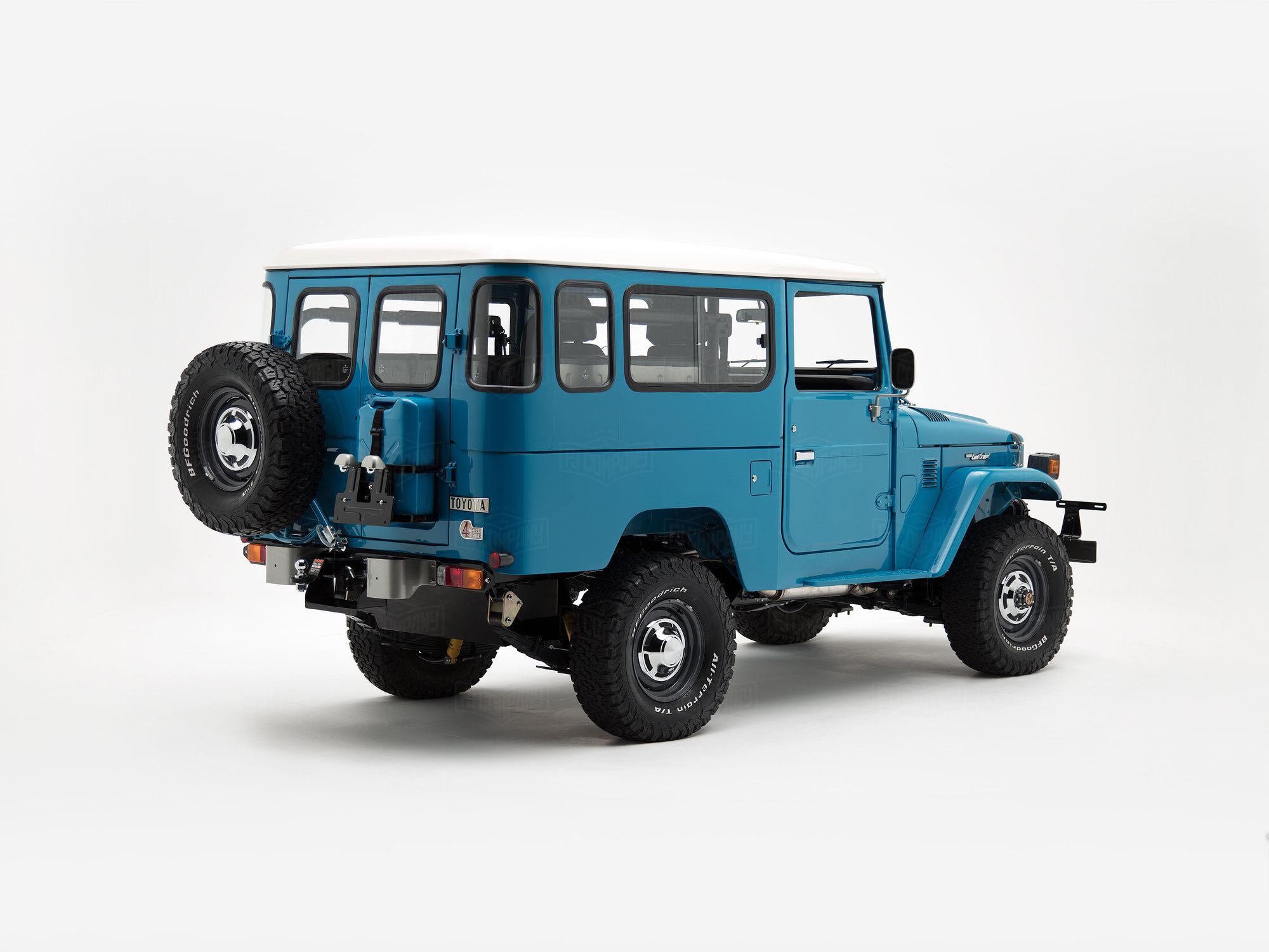 1981 Fj43 Sky Blue Fj43 102908