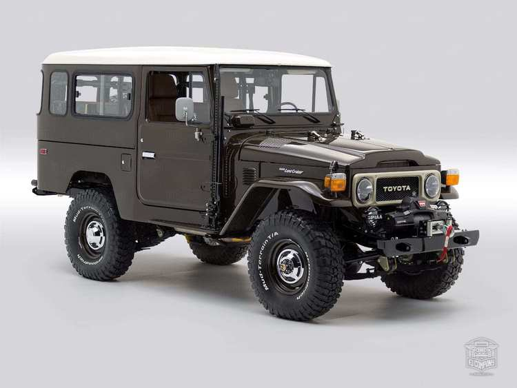 1983 FJ43-110887 Buffalo Brown