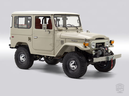 The FJ Company 1983 FJ40 Land Cruiser 367632-B Heath Gray