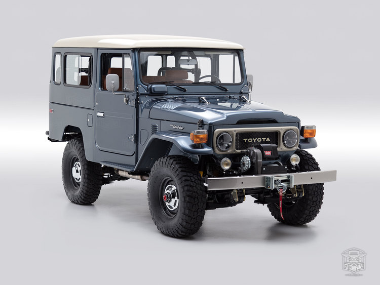 1984 Toyota Land Cruiser Freeborn Red FJ43-113295
