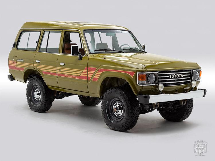 1986 Toyota Land Cruiser FJ62 Red FJ62-048089