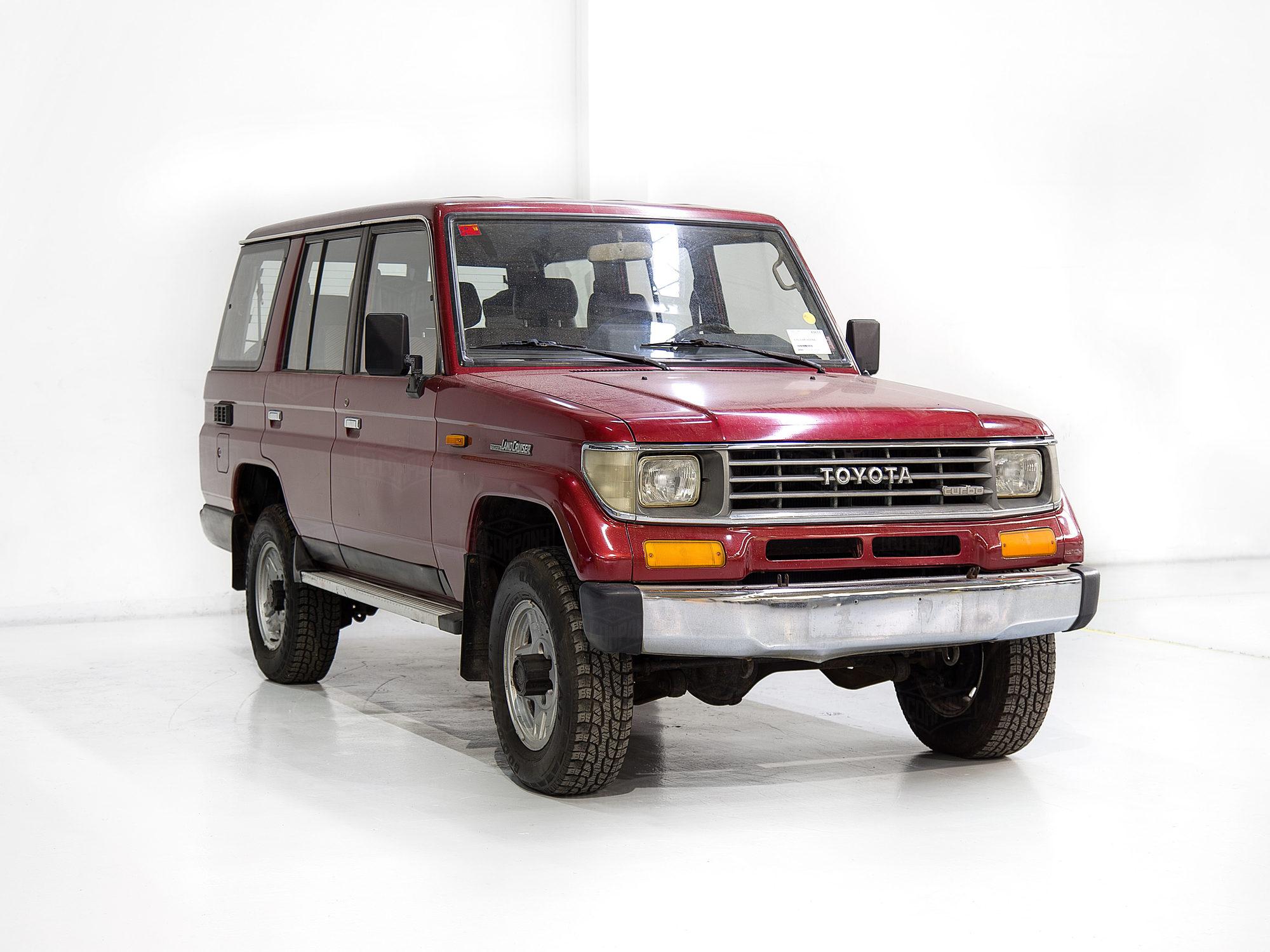 Toyota Dealer Miami >> 1990 FJ76 - Medium Red Pearl - JT1V0LJ7708000216