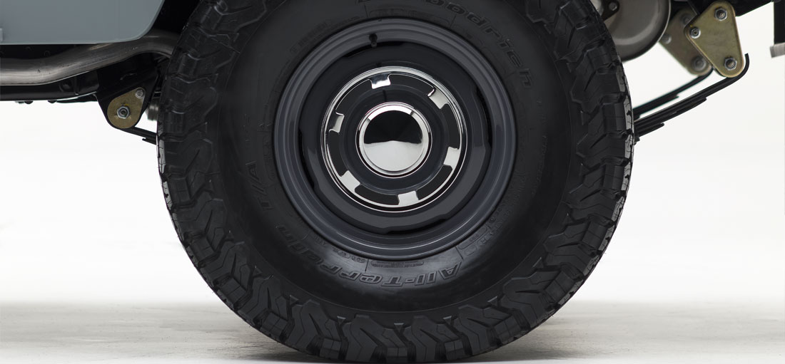 BF Goodrich M/T or A/T tires