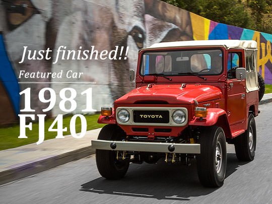 We build Land Cruisers like they used to.