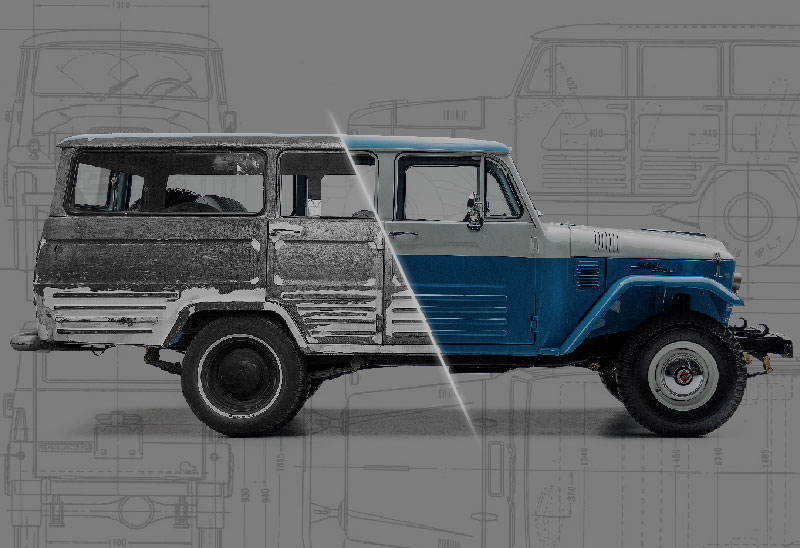 The FJ Company - Toyota FJ Land Cruiser Restorations -