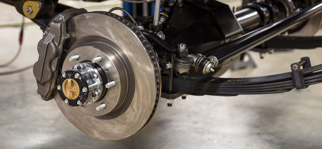 Toyota 4-wheel disc brakes