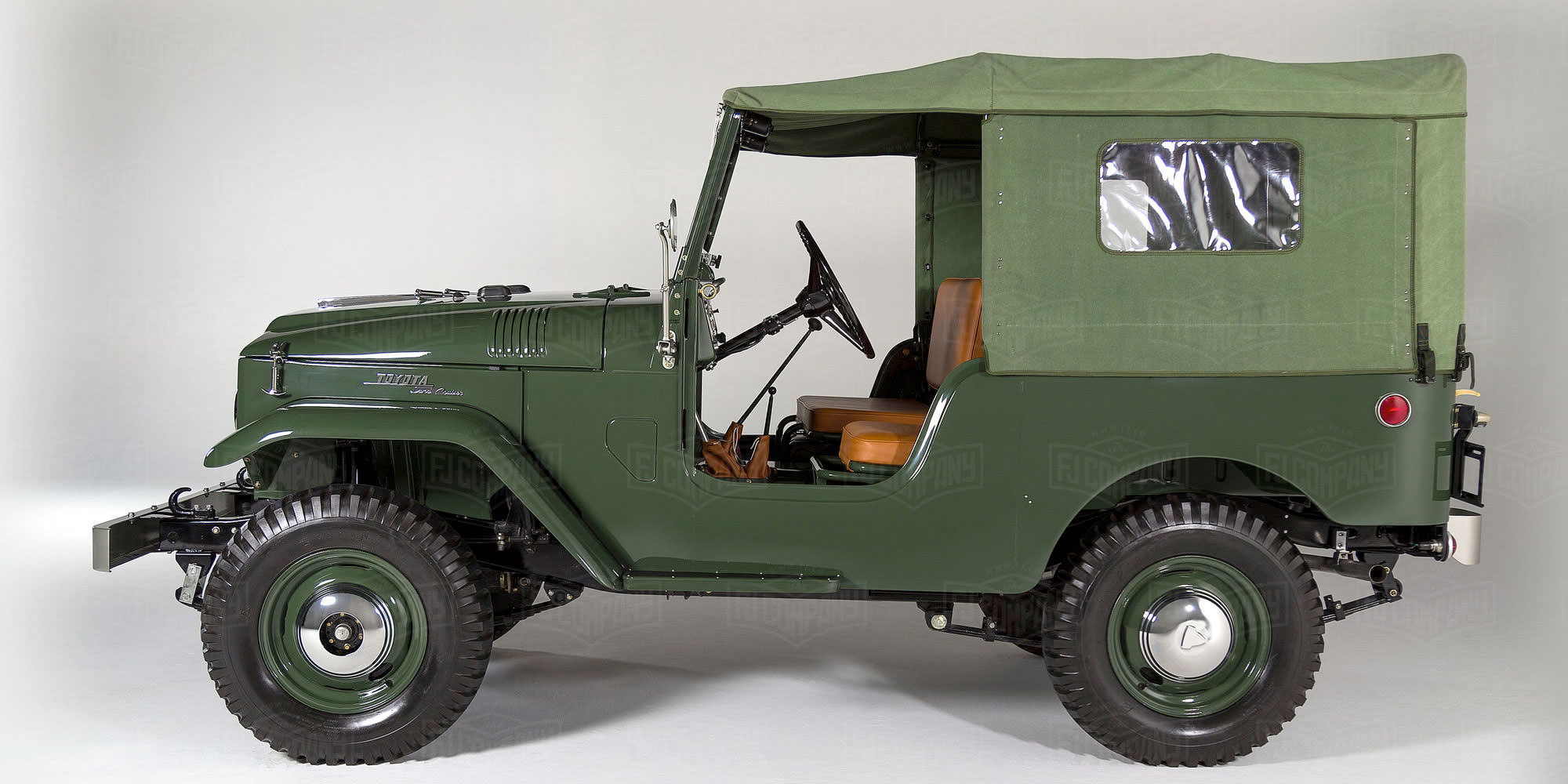1960 Toyota Land Cruiser FJ25 Army Green FJ25