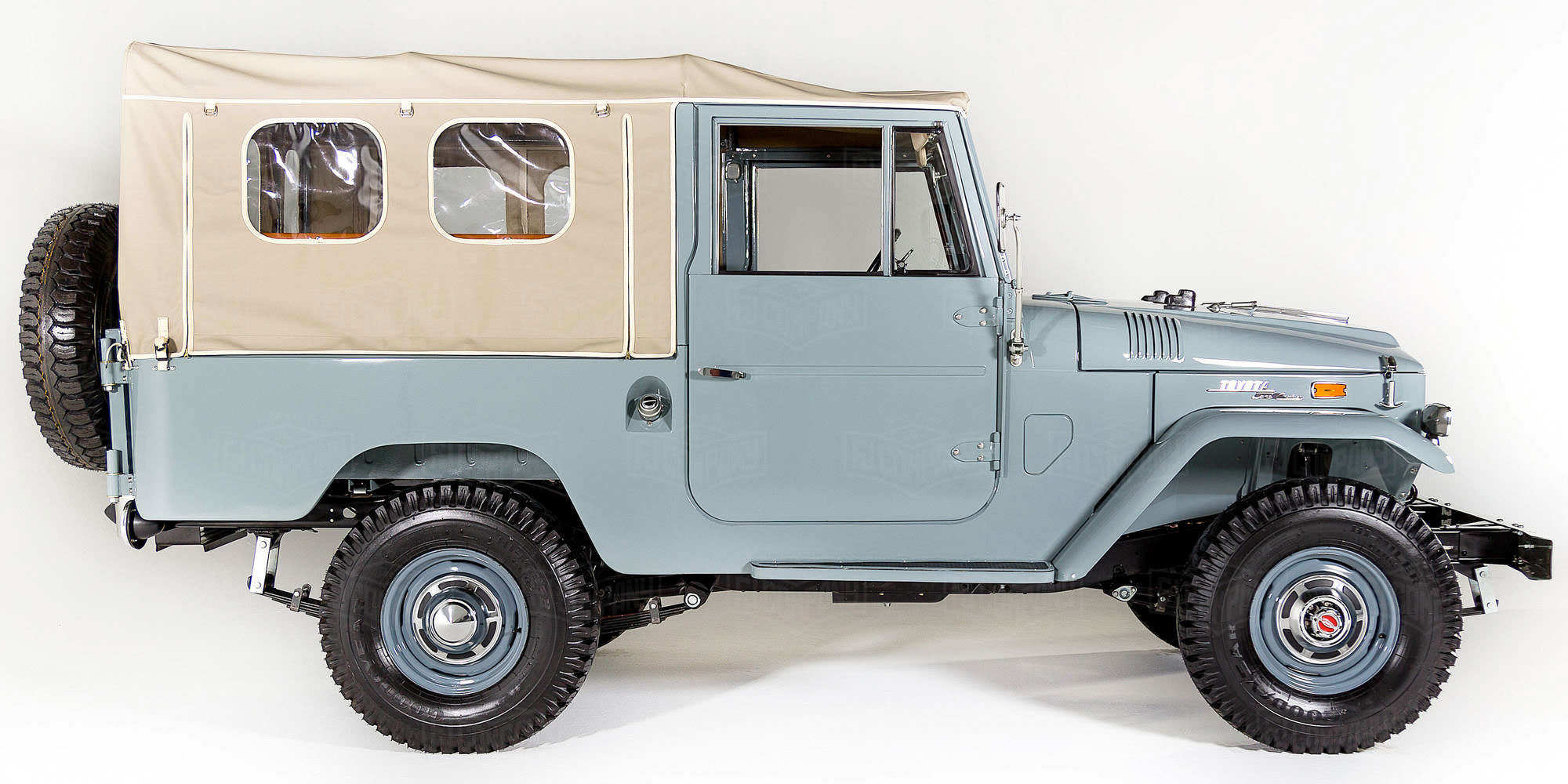 1971 Toyota Land Cruiser FJ43 Grey FJ43