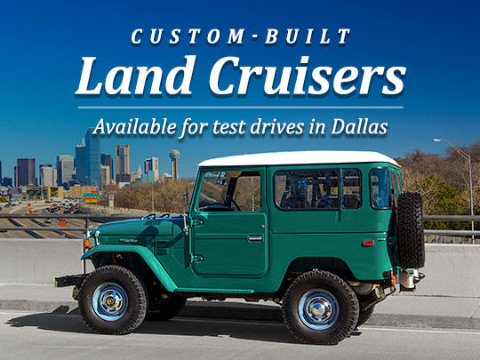 Available for Test Drivers in Dallas