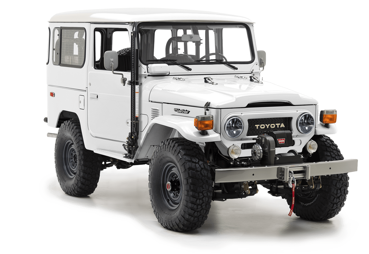 Charming Toyota FJ40 For Sale   The FJ Company   Land Cruiser Restoration